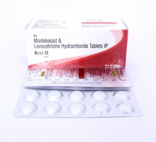 Levocetirizine (5mg) + Montelukast (10mg) Tablet 1