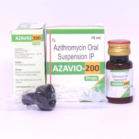 AZITHROMYCIN 200MG SUSPENSION 1