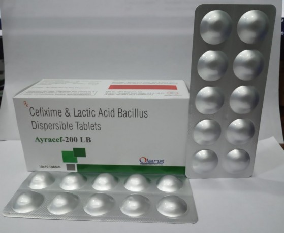 Cefixime & lactic acid bacillus dispersible tab. is available at best price 1