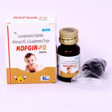 Levosalbutamol Sulphate Ambroxol HCL & Guaiphenesin Drops 1