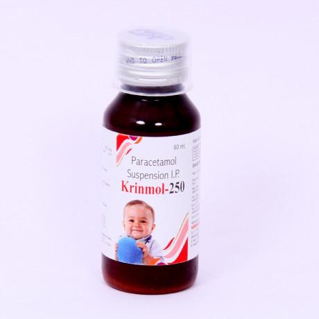 Paracetamol Suspension I.P at best price 1