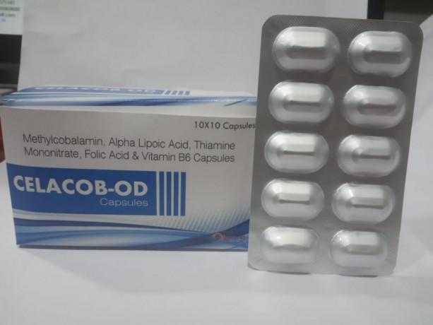 Methylcobalamin 1500 MCG + alpha lipoic acid 100MG+ pyridoxine HCL 3mg + folic acid 1.5 MG is available at best price 1