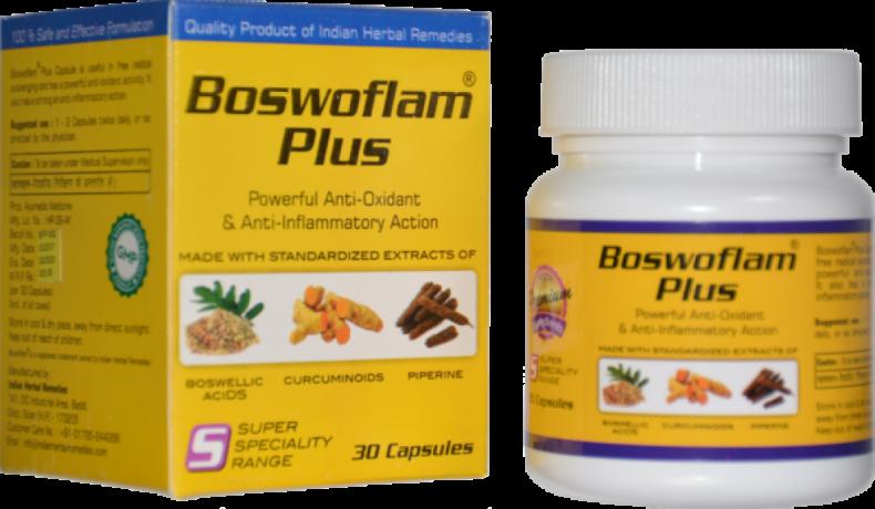 Boswoflam Plus Capsules : Anti-Oxidant and Anti-Inflammatory Action 1