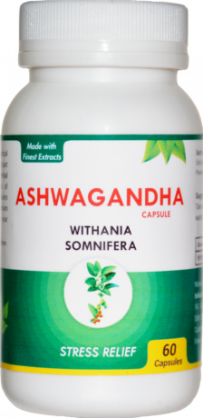 Ashwagandha Capsules: Anti-oxidant 1