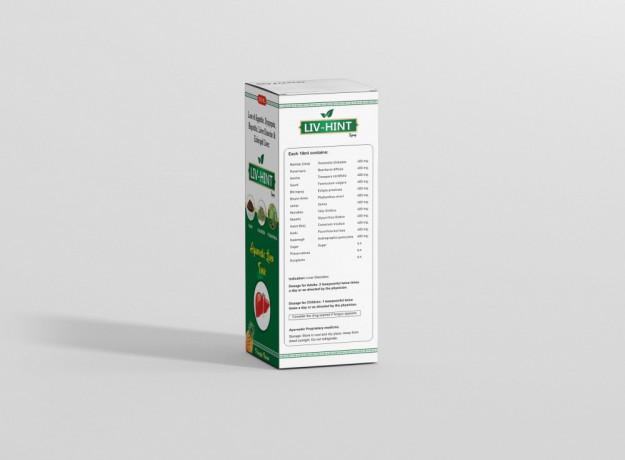 Livhint Ayurvedic Liver Syrup 200 ML 3