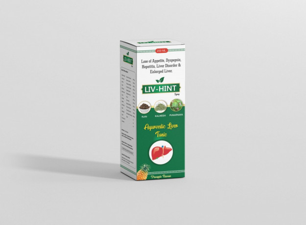Livhint Ayurvedic Liver Syrup 200 ML 2