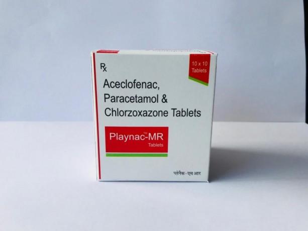 Aceclofenac + Paracetamol + Chlorzoxazone 1