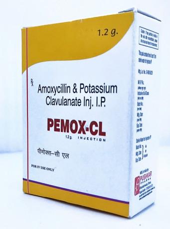 AMOXYCILLIN POTASSIUM CLAVULANATE INJ. I.P. 1.2G 1