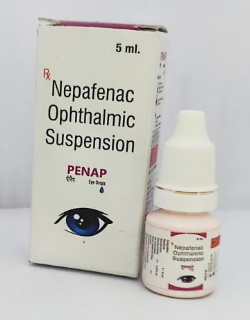 NEPAFENAC OPHTHALMIC SUSPENSION 1