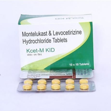 Montelukast 4MGand levocetirizine hydrochloride 2.5GM tablets 1