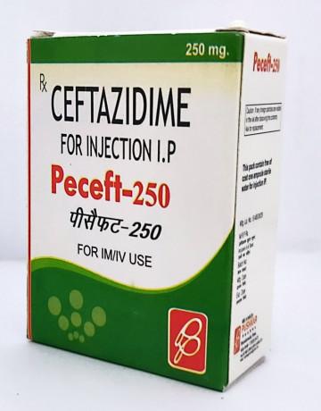 CEFTAZIDIME FOR INJECTION I.P. 250 MG 1