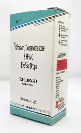 OFLOXACIN, DEXAMETHASONE & HPMC EYE/EAR DROPS 1