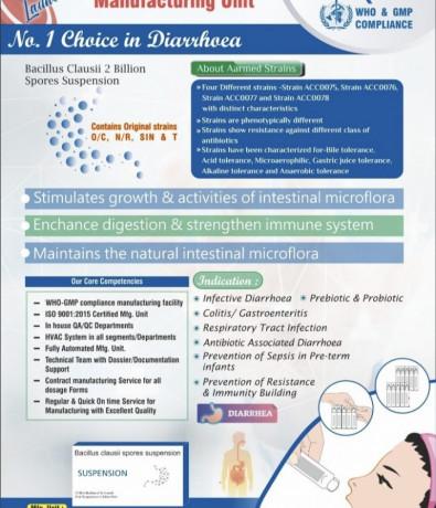 Bacillus Clausii is a Probiotic 2