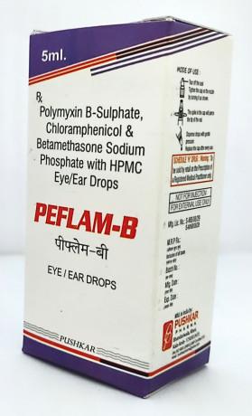 POLYMYXIN B-SULPHATE, CHLORAMPHENICOLE & BETAMETHASONE SODIUM PHOSPHATE WITH HPMC 1