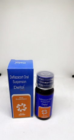Defol ( Deflazacort Oral Suspension 6 mg ) 1