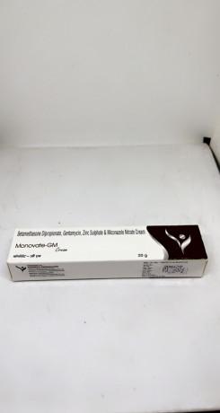 Monovate - GM ( BETAMETHASONE , GENTAMYCIN AND MICONAZOLE NITRATE ) 1