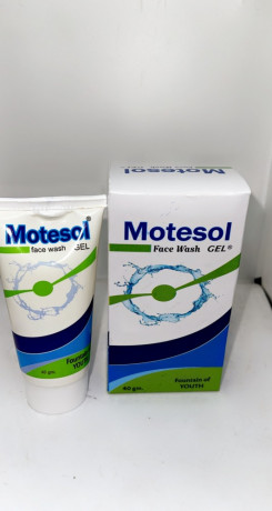 Motesol Face Wash Gel ( Neem Extract, Tea Tree Oil & Chamomile. In a gel base ) 1