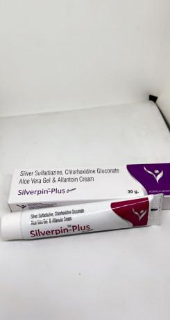 Silverpin - Plus ( Sliver Sulfadiazine Chlorhexidine Gluconate ) 1