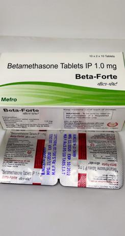 Beta - Fort ( Betamethasone Tablets 1.0 mg ) 1