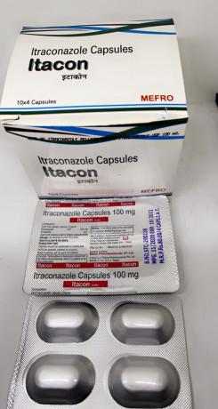 Itacon ( Itraconazole Capsules 100mg ) 1