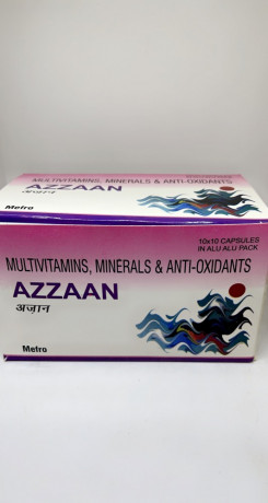 AZZAAN Capsules ( Multivitamins , Minerals & Anti Oxidants ) 1
