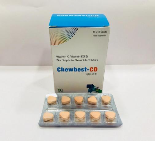 Vitamin C 500 mg + Vit. D 3 400 I.U. + Zinc 22.5 mg 1