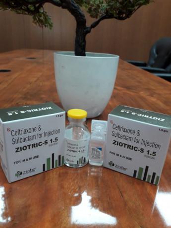 CEFOPERAZONE 1000 + SULBACTAM ANHYDROUS 500MG 1