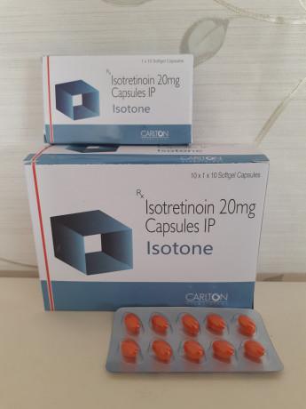 ISOTRETINOIN 20MG CAPSULES IP 1