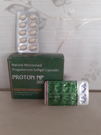 NATURAL MICRONISED PROGESTERONE SOFTGEL CAPSULES 1