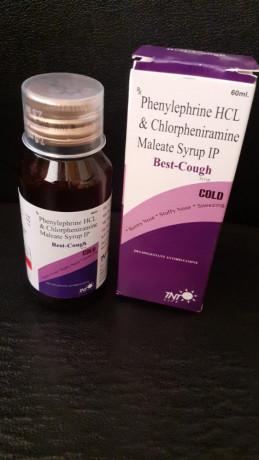 PHENYLEPHRINE HCL & CHLORPHENIRAMINE MALEATE SYRUP IP 1