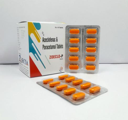 Aceclofenac100mg&Paracetamol 325 mg 1