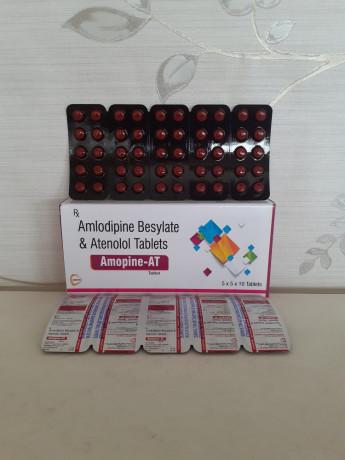 AMLODIPINE BESYLATE & ATENOLOL TABLETS IP 1