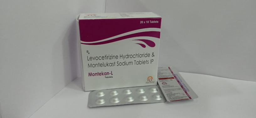 MONTELUCAST10MG +LIVOCETIRIZINE 5MG 1