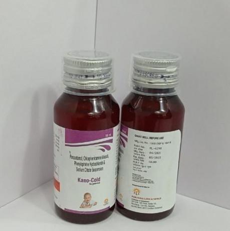 Paracetamol 125MG + CPM 0.5MG + Phenylpherine 5MG + Sodium Citrate 60 MG 1