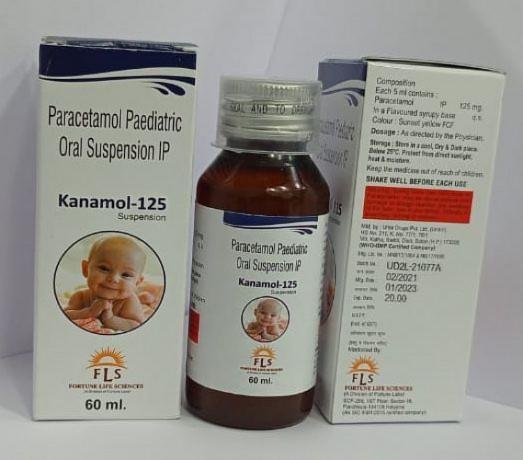 Paracetamol 125 mg syrup 1