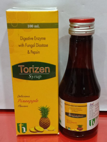 Diestive Enzyme with Fungal Diastase & Pepsin (DELICIOUS PINEAPPLE FLAVOUR) Syrup 2