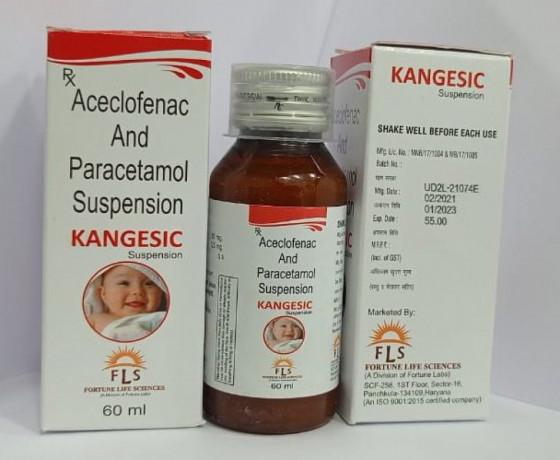 Aceclofenac 50MG + Paracetamol 125MG 1