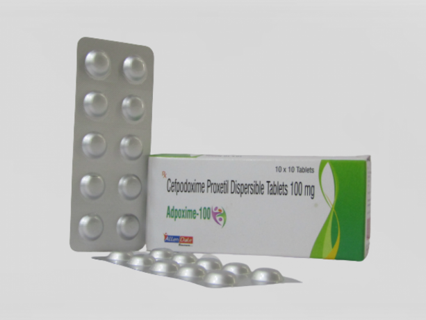CEFPODOXIME PROXETIL 100MG ( DISPERSIBLE TABLET) 1