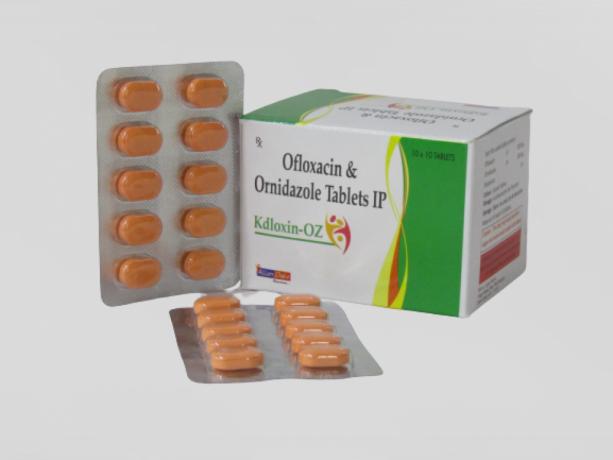 OFLOXACIN 200MG + ORNIDAZOLE 500MG 1