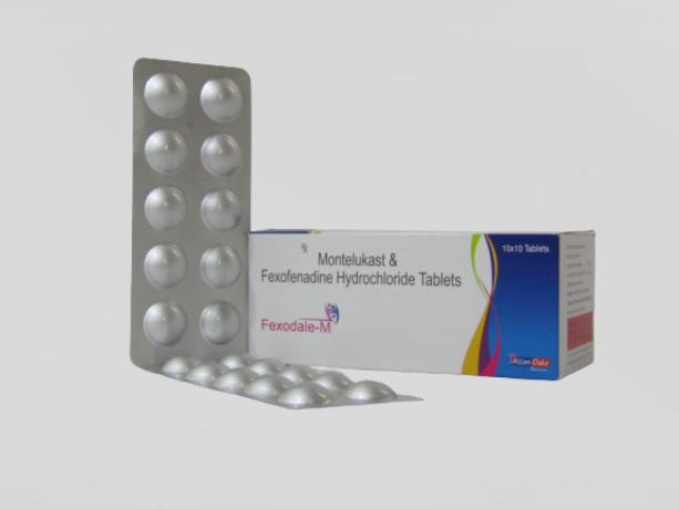 FEXOFENADINE HCL 120MG + MONTELUKAST 10MG 1