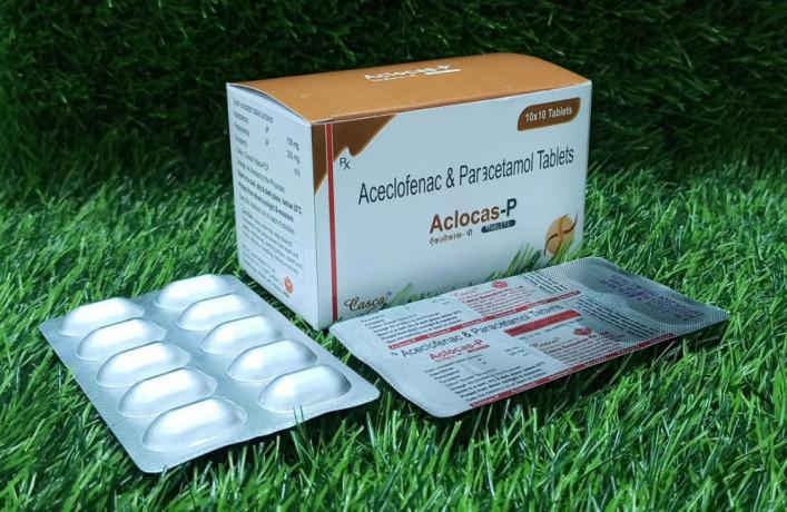 Aceclofenac & Paracetamol Tablet 1