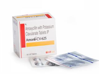 Amoxicillin 500 mg and Clavulanic Acid 125 mg