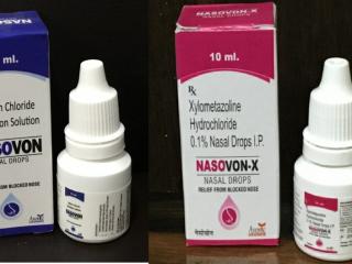 NASOVON &NASOVON X NASAL DROPS