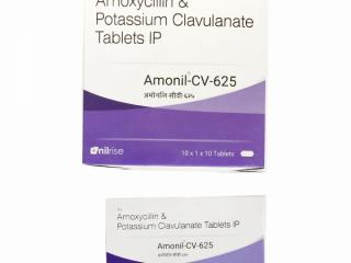 Amoxycillin 500 mg + clavulanic acid 125 mg