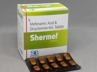 MEFENAMIC ACID 250MG  +  DICYCLOMINE HYDROCHLORIDE 10MG
