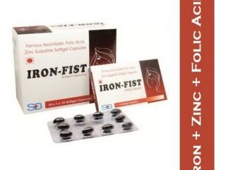Ferrous Ascorbate, Folic Acid , Zinc (SOFTGEL- MONO-CARTON)