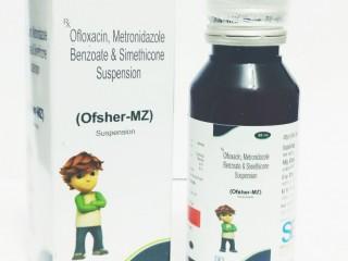 OFLOXACIN + METRONIDAZOLE + SIMETHICONE