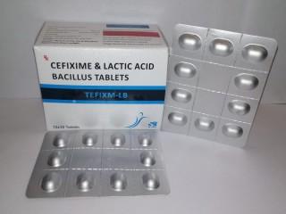 Cefixime &Lacticacid Bacillus