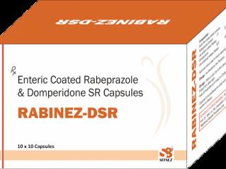 Rabiprazole+domperidone sustain release capsule