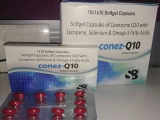 Co-enzyme Q10,lycopene,Selinium,omega 3 fatty acid